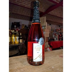 FLAMA D'OR  CAVA  ROSE